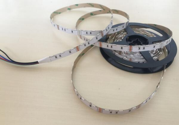 RGB 020 SMD 60pcs / Meters Side Emitting Flexible Strip Lights With DC12V 2