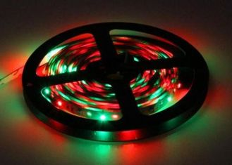 Cina Non-tahan air 3528SMD RGB Light Strip DC12V DC24V pemasok