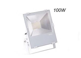Cina Komersial Outdoor LED Flood Light Fixtures 100W 150W Dengan White Color Shell pemasok