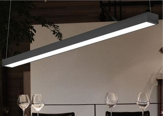Cina 180 derajat LED Flat Panel Light Beam Angle Dengan Material Cover Cahaya PC 4Ft / 3Ft / 2Ft pemasok