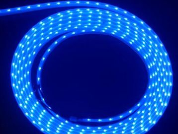 Cina RGB 020 SMD 60pcs / Meters Side Emitting Flexible Strip Lights With DC12V pemasok