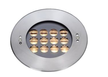 Cina 304 Stainless Steel RGB Recessed LED Underwater Lights 2700K ~ 6500K pemasok