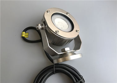 Cina Adjustable Underwater Pond Lights, Underwater LED Spotlights Dengan Cree COB LED pemasok