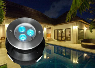 Cina 118MM Diameter LED Kolam Renang Light Dengan RGB Color Changing Led Pool Light pemasok