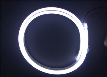 Cina Pink Violet Color terbuka LED Strip Waterproof / LED Neon Flex Tube pemasok