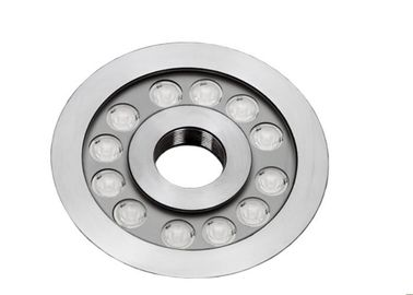 Cina Lampu LED Underwater RGB 3in1 Untuk Kolam Dimmable 9W 27W 316 SS 7 Inch Φ182mm Distributor