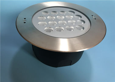 Cina 50W Osram High Power LED Kolam Renang Light Dengan 25 ° Beam Angle pabrik